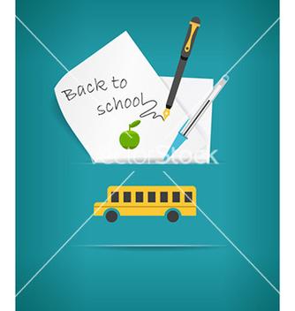 Free back to school vector - Kostenloses vector #231971