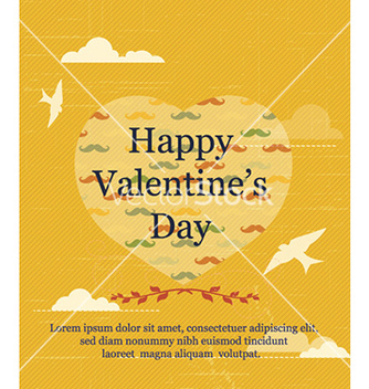 Free happy valentines day vector - Free vector #232341