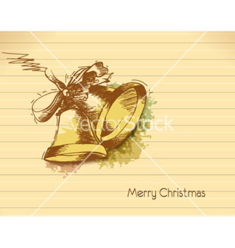 Free christmas with bells vector - vector gratuit #232371