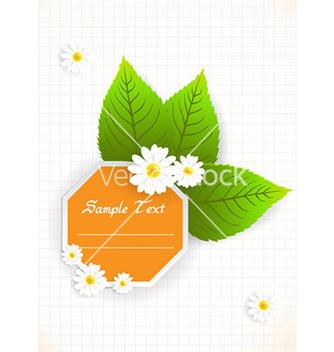 Free spring floral frame vector - Kostenloses vector #232451