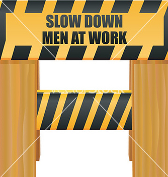 Free under construction sign vector - vector gratuit #232561