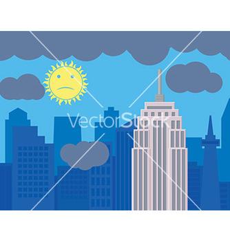 Free cityscape design vector - Free vector #232581