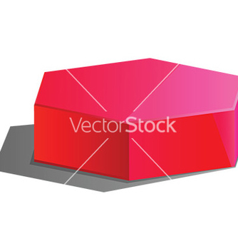 Free 3d hexagon vector - Free vector #232601