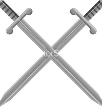 Free old swords vector - Free vector #232621