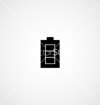 Free battery icon vector - vector #233211 gratis