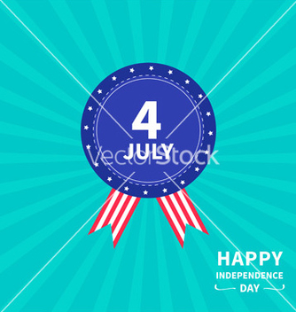 Free medal independence day vector - vector gratuit #234281