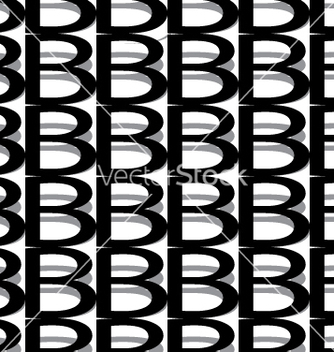 Free pattern letter b vector - Kostenloses vector #234401