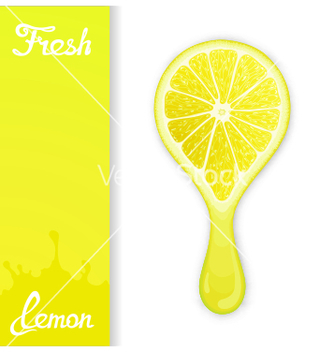 Free lemon crush juice vector - Kostenloses vector #234741