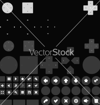 Free game controller and keyboard vector - бесплатный vector #234891