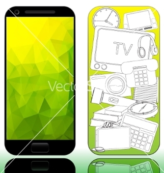 Free mobile vector - Free vector #235041