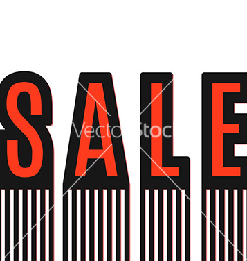 Free sale text made modern trendy design template vector - Free vector #235141