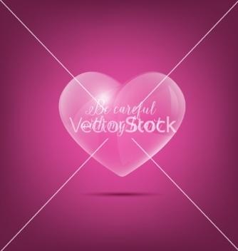 Free glass heart vector - Kostenloses vector #235231