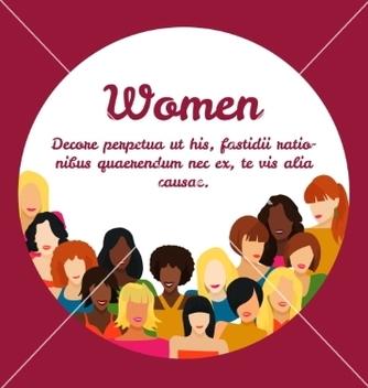 Free woman concept vector - Free vector #235371
