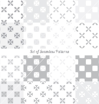 Free seamless patterns vector - Free vector #235421