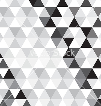 Free black triangle pattern background vector - vector #235451 gratis