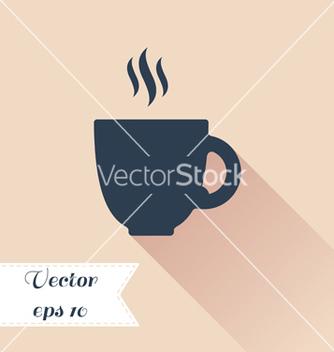 Free cofee cup silhouette icon vector - Kostenloses vector #235581