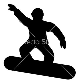 Free snow board vector - Free vector #235881