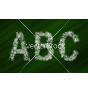 Free set of bokeh alphabet and symbols vector - Free vector #236331
