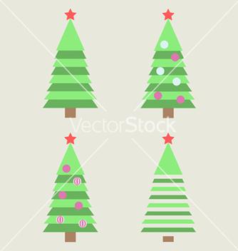 Free christmas tree vector - vector #236381 gratis
