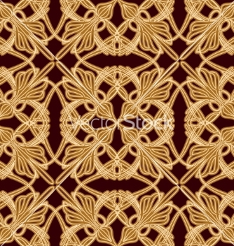Free seamless old eastern pattern vector - Free vector #236601