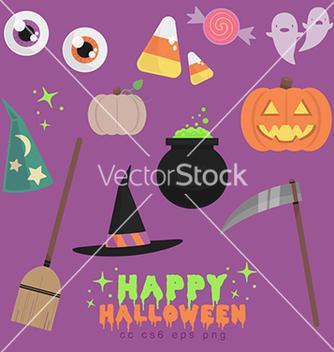 Free flat halloween vector - Free vector #236671