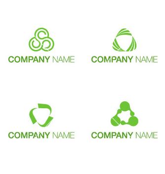 Free logo triangle concept vector - Kostenloses vector #237061