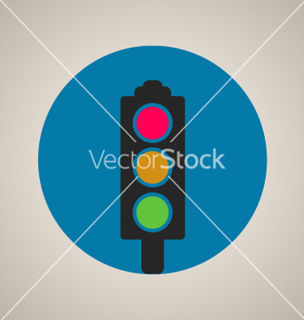 Free stop color lights icon vector - Free vector #237371