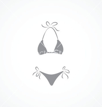 Free swimsuit icon vector - vector gratuit(e) #238191