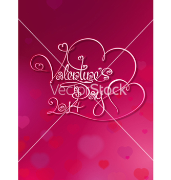 Free valentines card valentines day 2014 rubie vector - Kostenloses vector #238481