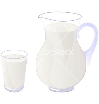 Free milk vector - бесплатный vector #238981
