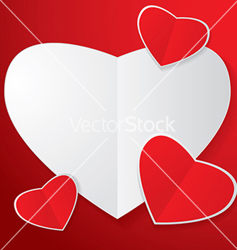 Free four heart paper vector - бесплатный vector #239021