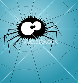 Free spider on the web vector - бесплатный vector #239111