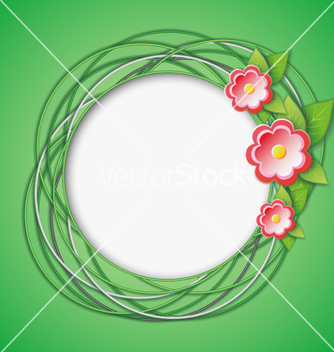 Free floral abstract creative background vector - Kostenloses vector #239291