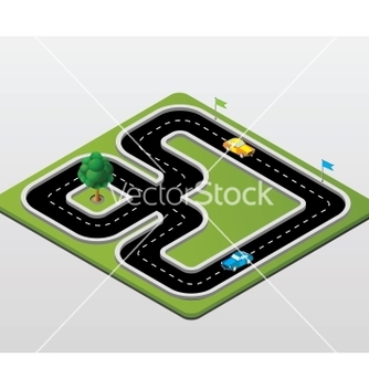 Free track racing vector - Free vector #239381