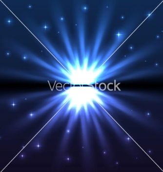 Free bright blue explode vector - Free vector #239461
