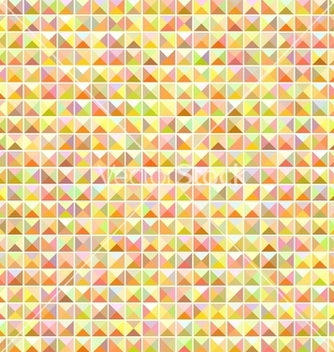 Free orange seamless mosaic pattern vector - Free vector #239811