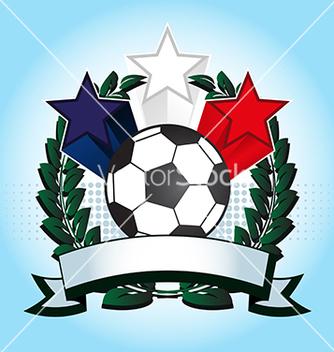 Free soccer emblem vector - Free vector #240041