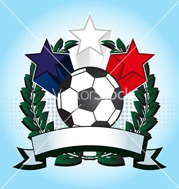 Free soccer emblem vector - vector gratuit #240041