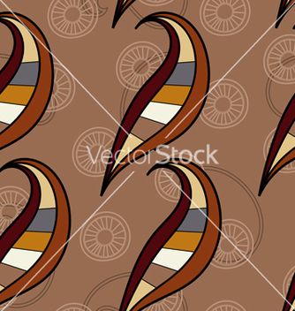 Free seamless texture with curled elements vector - Kostenloses vector #240051