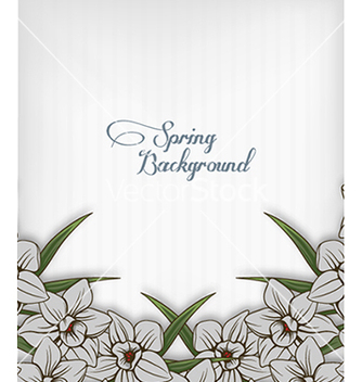 Free floral background vector - Free vector #240151