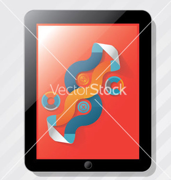 Free elements info graphics ipad vector - Free vector #241191