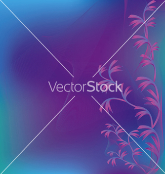 Free abstract violet green background with decorative vector - Free vector #241971
