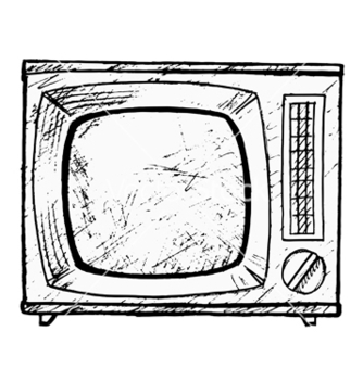 Free vintage tv set vector - Free vector #242221