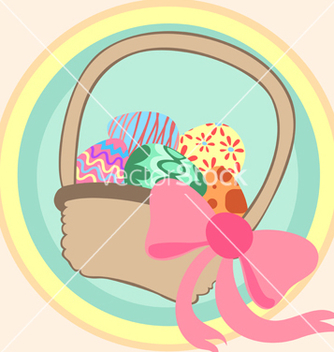 Free easter basket vector - Free vector #242251