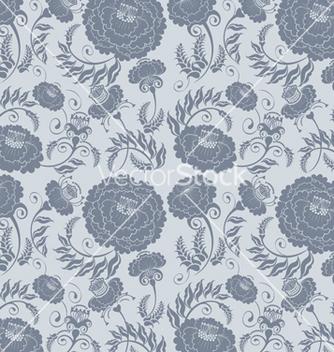 Free floral design grey vector - Free vector #242541