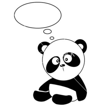 Free panda vector - Free vector #242681