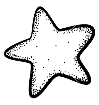 Free star doodle vector - Free vector #242701