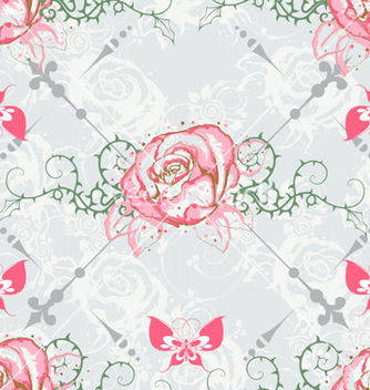 Free seamless paisley pattern vector - Kostenloses vector #242791
