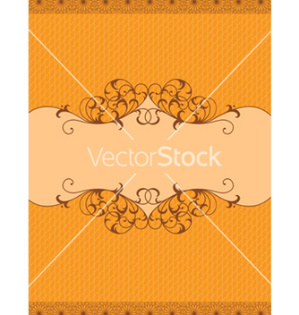 Free frame with floral vector - Kostenloses vector #242901