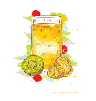 Free fruit juice vector - Free vector #243331